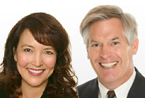 Randy Gardner and Leslie Daff