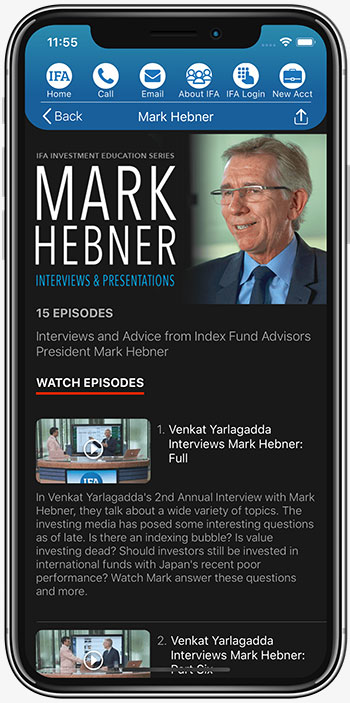 IFA App Mark Hebner Videos