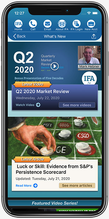 IFA App Whats New