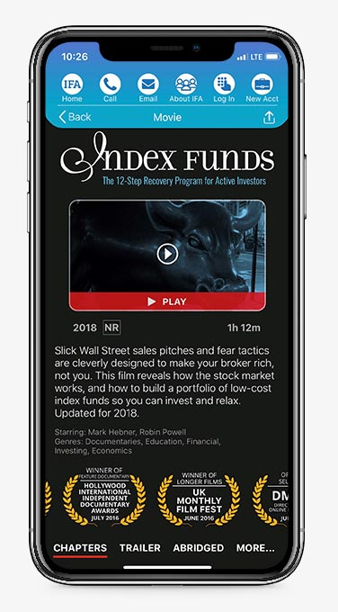 IFA AppIndex Funds Movie