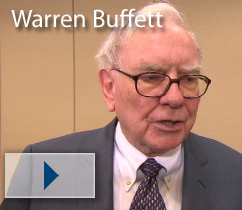 Warren Buffet on CNN Money - Play Video